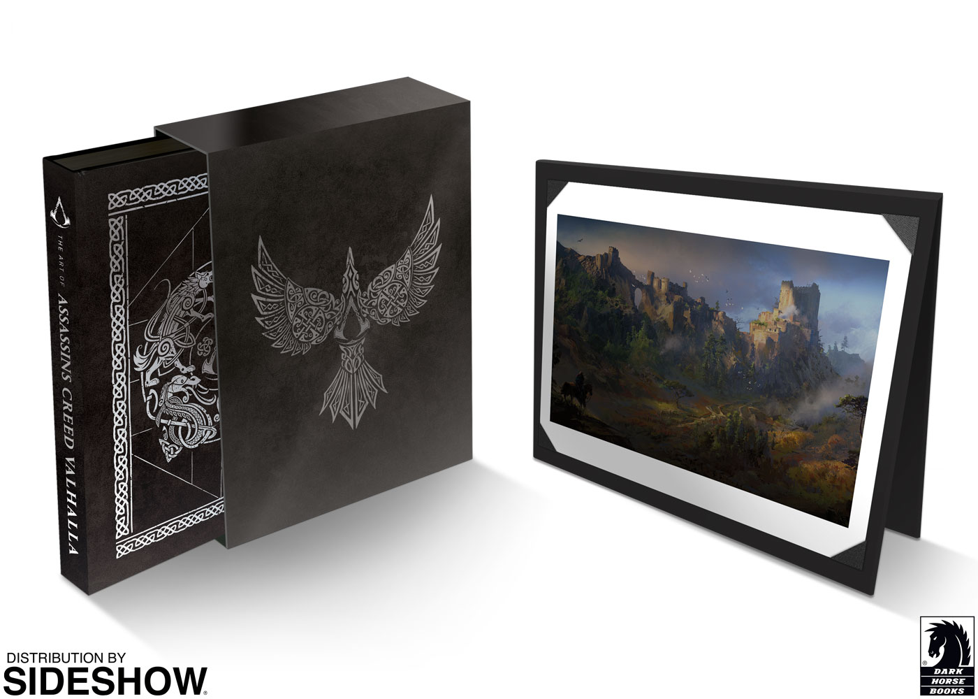 The Art Of Assassin S Creed Valhalla Deluxe Edition Hardcover Book By Dark Horse Comics Sideshow Collectibles