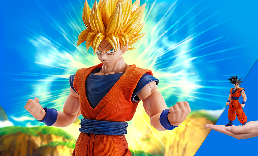 Gallery Feature Image of Son Goku Collectible Figure - Click to open image gallery
