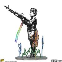 Gallery Image of Crayon Shooter Polystone Statue