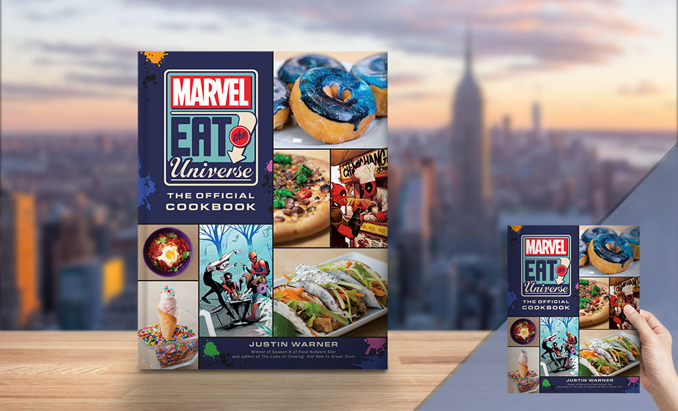 Gallery Feature Image of Marvel Eat the Universe: The Official Cookbook Book - Click to open image gallery