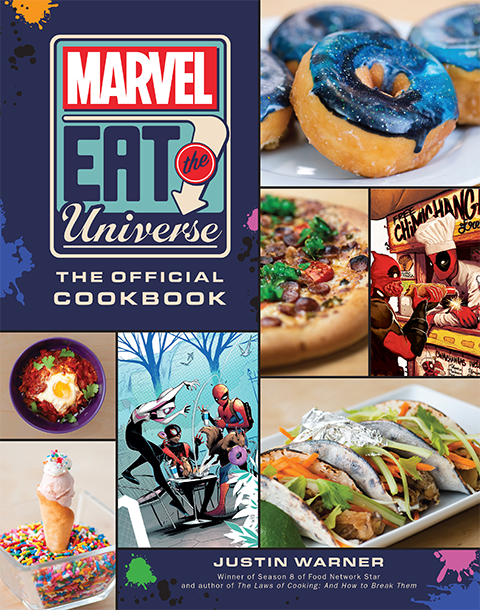 Insight Editions Marvel Eat the Universe: The Official Cookbook Book