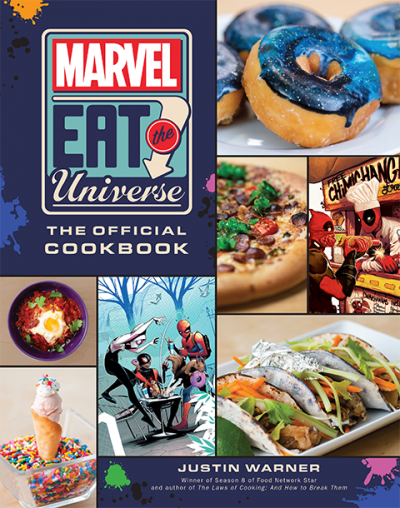 Marvel Eat the Universe: The Official Cookbook Book
