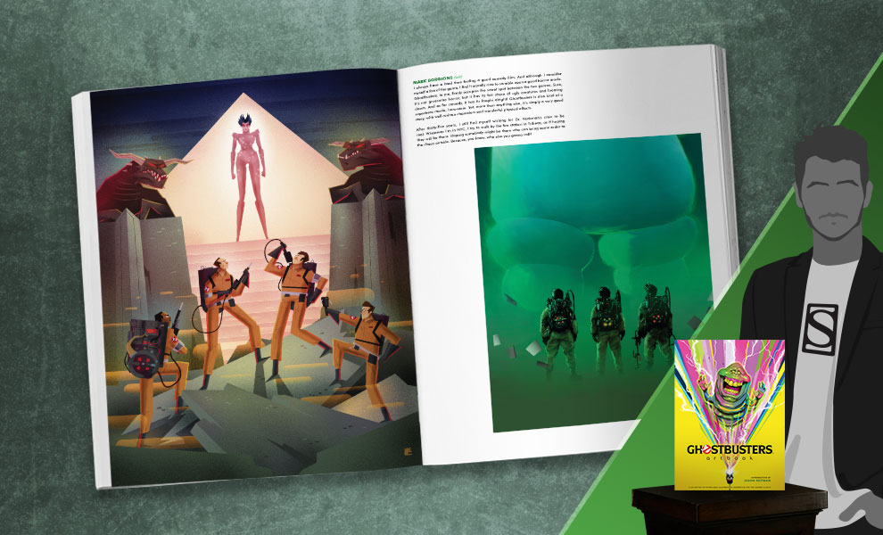 Gallery Feature Image of Ghostbusters: Artbook Book - Click to open image gallery