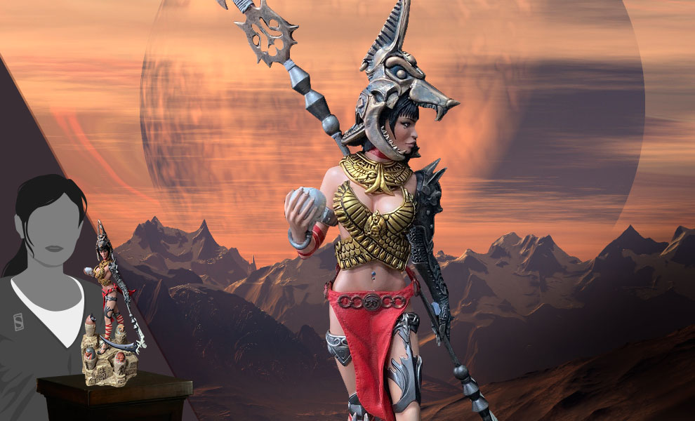 Gallery Feature Image of Anubis Statue - Click to open image gallery