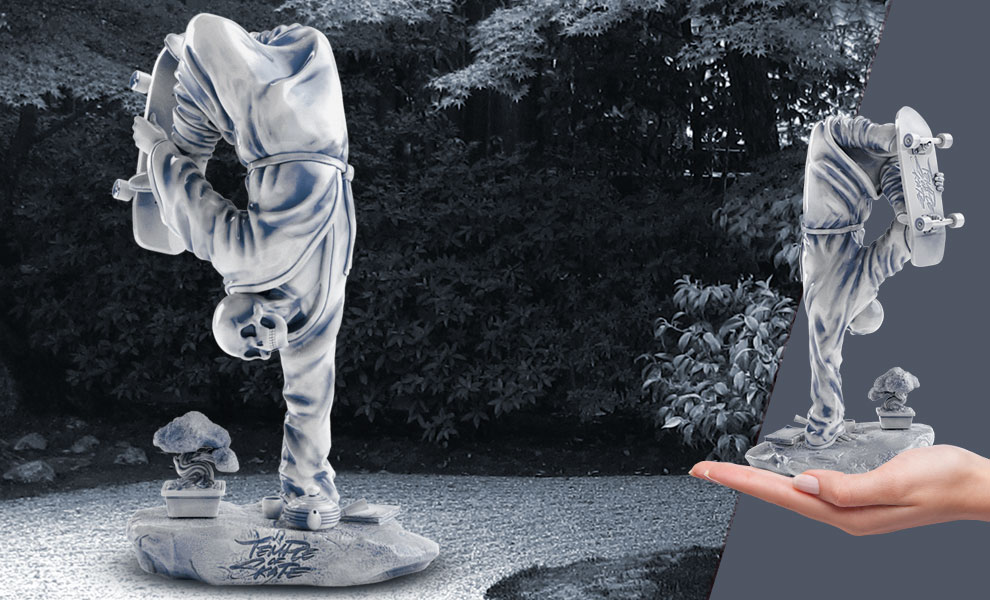 Gallery Feature Image of Zen Plant Polystone Statue - Click to open image gallery