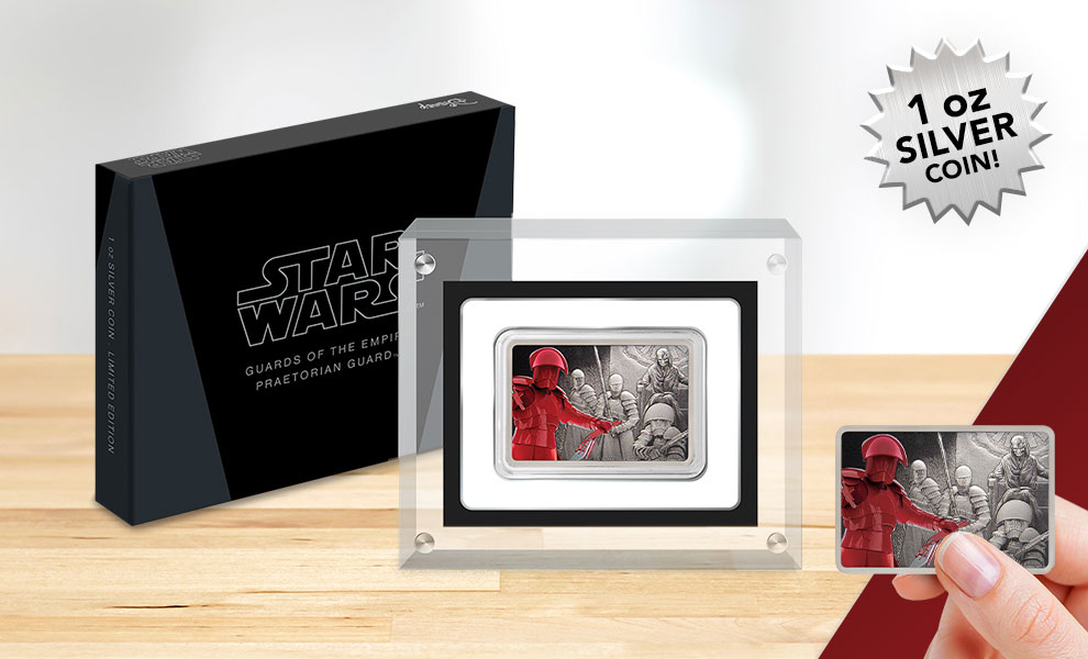 Gallery Feature Image of Praetorian Guard™ Silver Coin Silver Collectible - Click to open image gallery