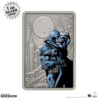 Gallery Image of The Caped Crusader™ - The Kiss Silver Collectible