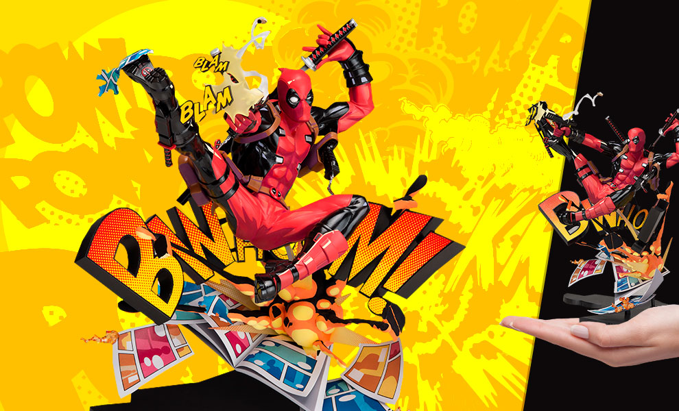 Gallery Feature Image of Deadpool: Breaking the Fourth Wall Collectible Figure - Click to open image gallery