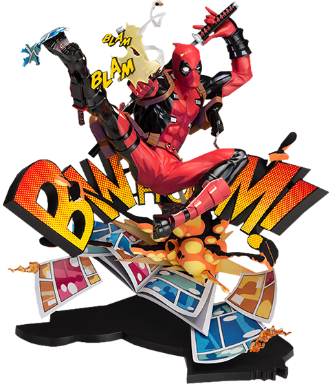 Good Smile Company Deadpool: Breaking the Fourth Wall Collectible Figure
