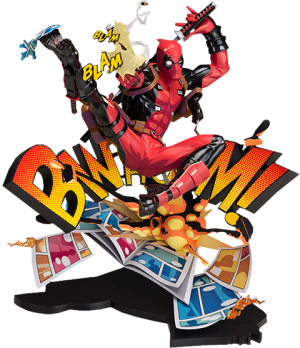 Deadpool: Breaking the Fourth Wall Collectible Figure