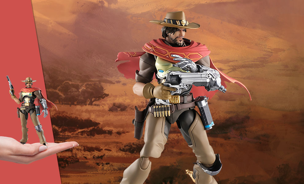 Gallery Feature Image of McCree Figma Collectible Figure - Click to open image gallery