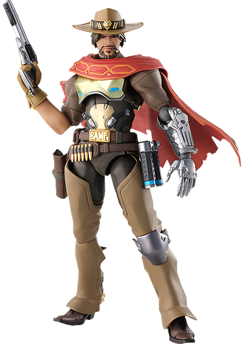 Good Smile Company McCree Figma Collectible Figure