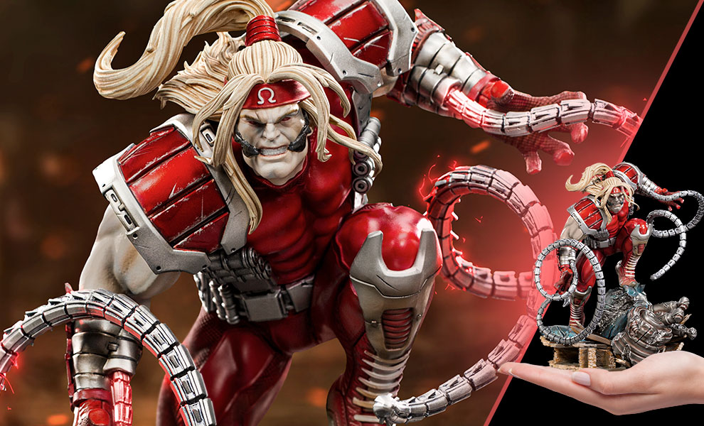 Gallery Feature Image of Omega Red 1:10 Scale Statue - Click to open image gallery