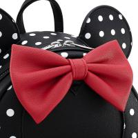 Gallery Image of Minnie Mouse Black & White Polka Dot Mini Backpack Apparel