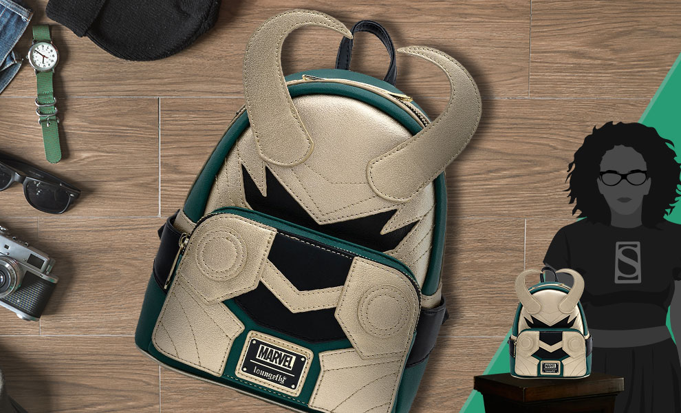 Gallery Feature Image of Loki Classic Mini Backpack Apparel - Click to open image gallery