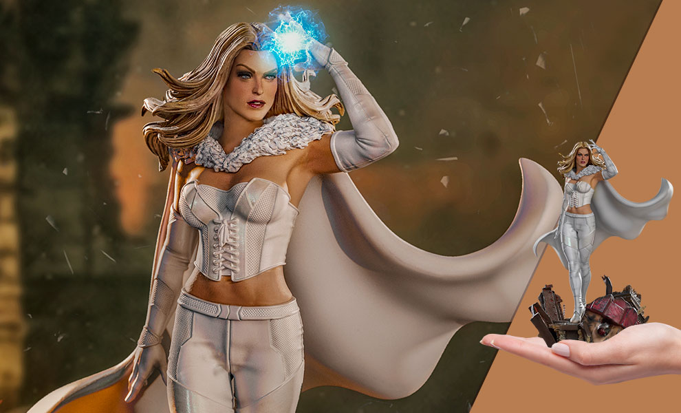 Gallery Feature Image of Emma Frost 1:10 Scale Statue - Click to open image gallery