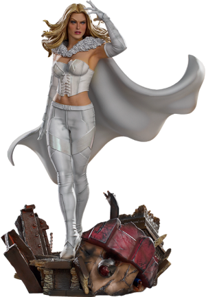 Emma Frost 1:10 Scale Statue