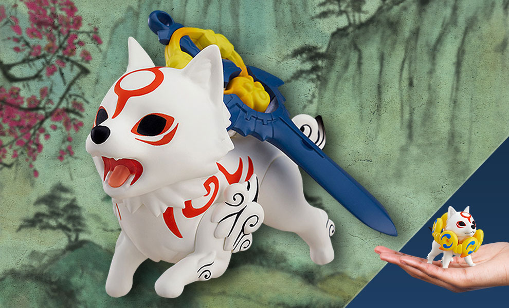 Gallery Feature Image of Amaterasu (DX Version) Nendoroid Collectible Figure - Click to open image gallery