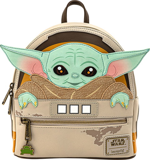 Loungefly The Child Cradle Mini Backpack Apparel