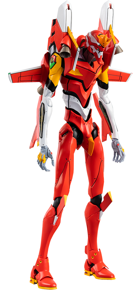 Threezero ROBO-DOU Evangelion Production Model-02 Collectible Figure