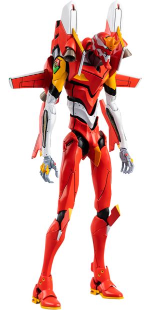 ROBO-DOU Evangelion Production Model-02 Collectible Figure
