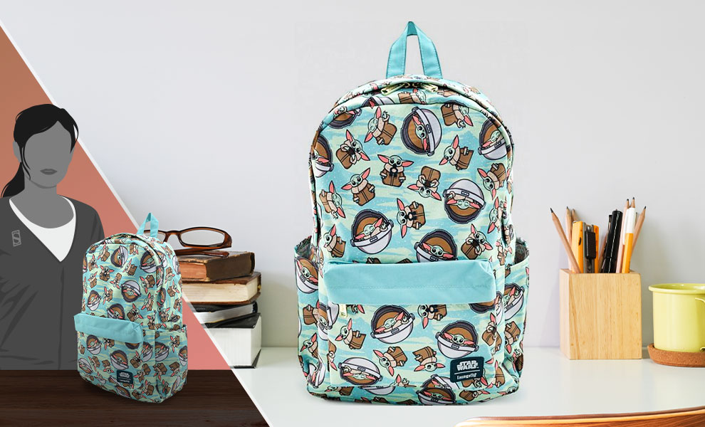 Gallery Feature Image of The Child AOP Backpack Apparel - Click to open image gallery