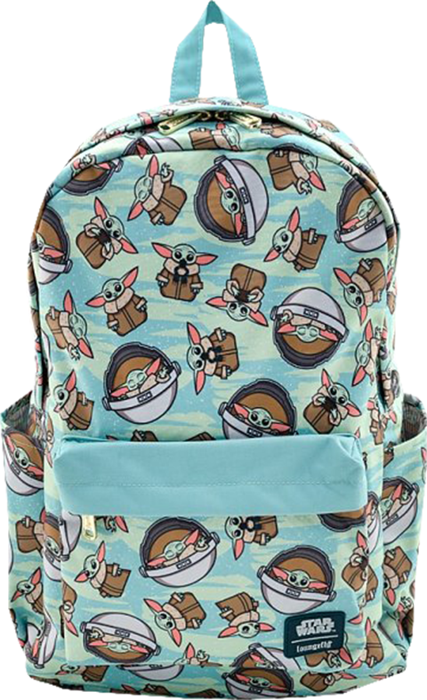 Loungefly The Child AOP Backpack Apparel