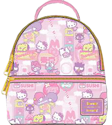 Loungefly Hello Kitty Kawaii Convertible Mini Backpack Apparel
