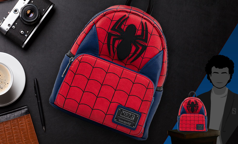 Gallery Feature Image of Spider-Man Classic Mini Backpack Apparel - Click to open image gallery