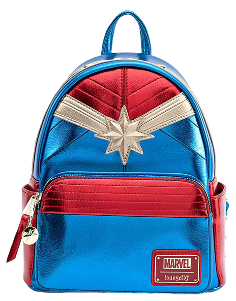 Loungefly Captain Marvel Classic Mini Backpack Apparel