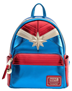 Captain Marvel Classic Mini Backpack Apparel