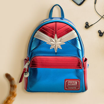Captain Marvel Classic Mini Backpack Apparel