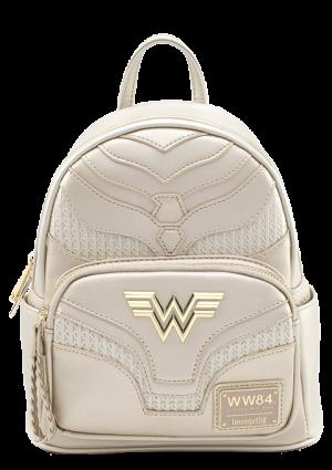 Wonder Woman 1984 Gold Mini Backpack Apparel