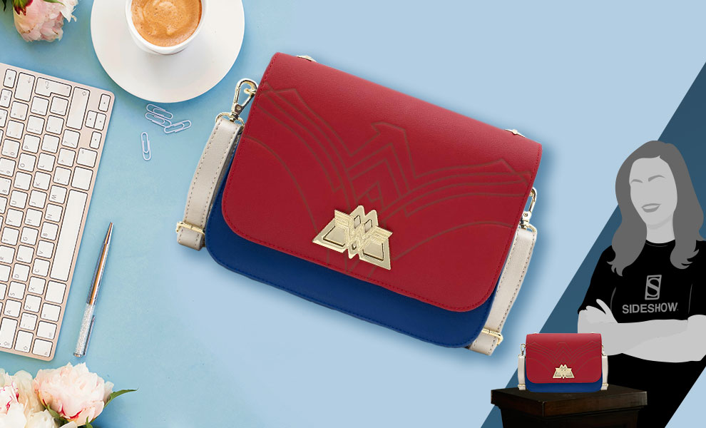 Gallery Feature Image of Wonder Woman Lasso Strap Crossbody Apparel - Click to open image gallery