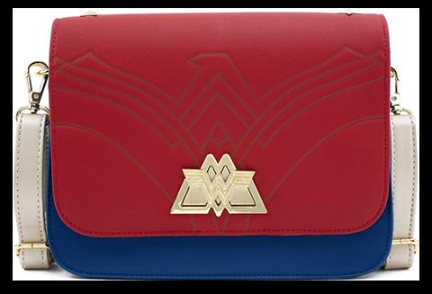 Loungefly Wonder Woman Lasso Strap Crossbody Apparel
