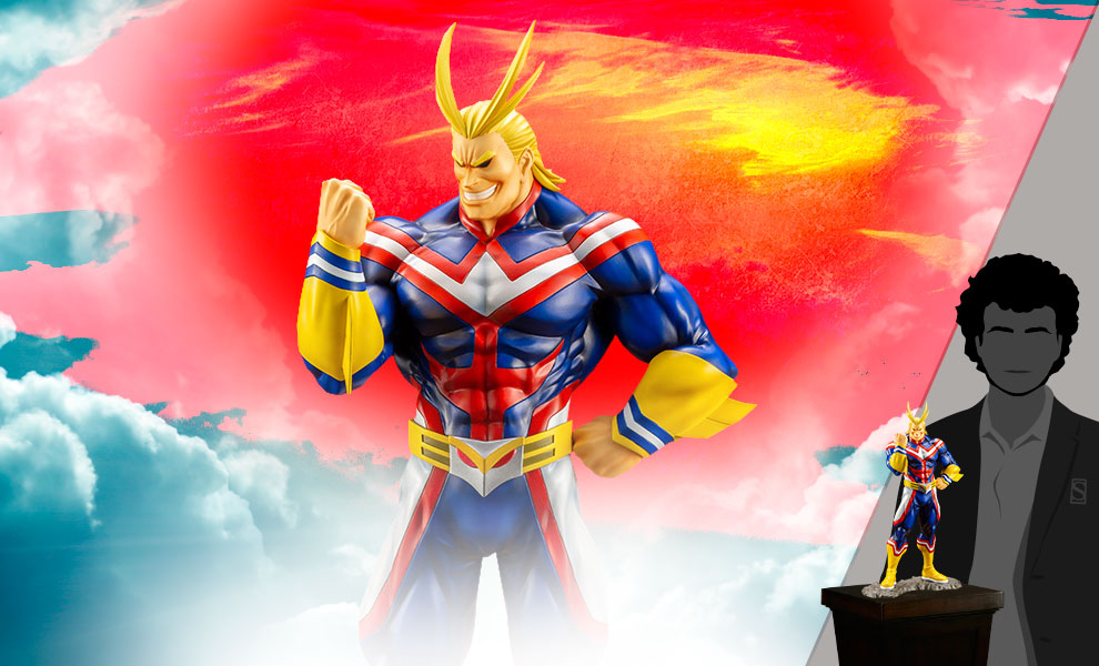 Gallery Feature Image of All Might Statue - Click to open image gallery