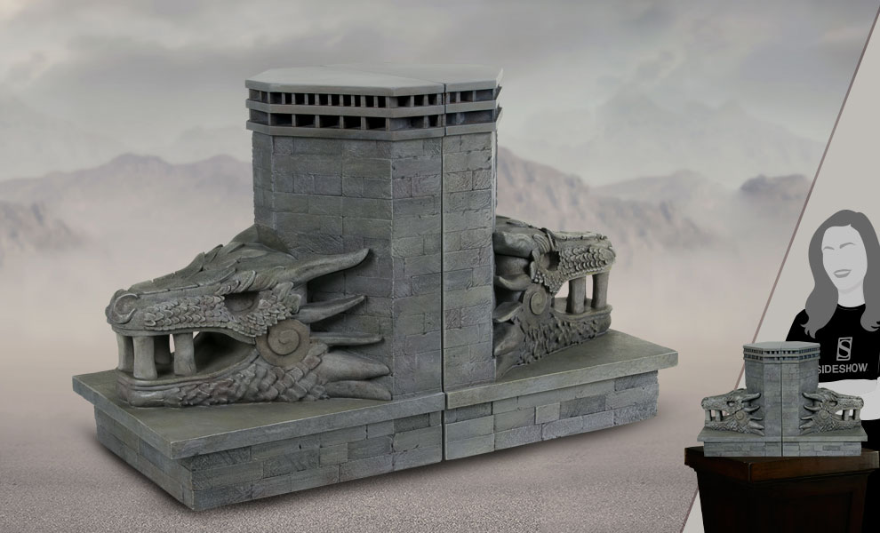 Gallery Feature Image of Dragonstone Gate Bookends Office Supplies - Click to open image gallery