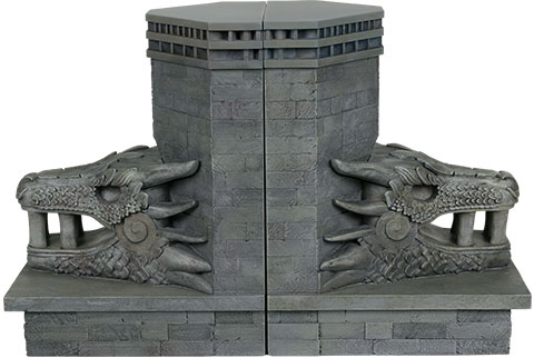 Dark Horse Comics Dragonstone Gate Bookends Office Supplies