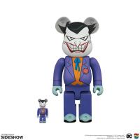 Gallery Image of Be@rbrick Joker (Batman the Animated Series Version) 100% and 400% Collectible Set