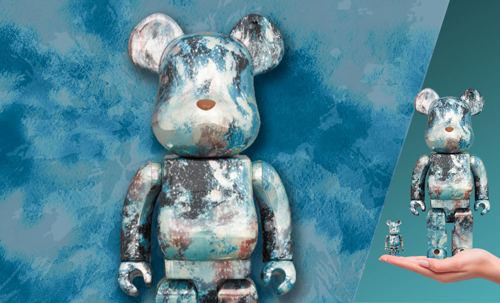 Gallery Feature Image of Be@rbrick Pushhead #5 100% and 400% Collectible Set - Click to open image gallery