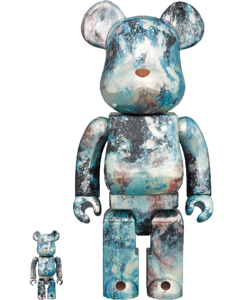 Medicom Toy Be@rbrick Pushhead #5 100% and 400% Collectible Set