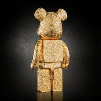Gallery Image of Be@rbrick Royal Selangor Arabesque Golden 400% Collectible Figure