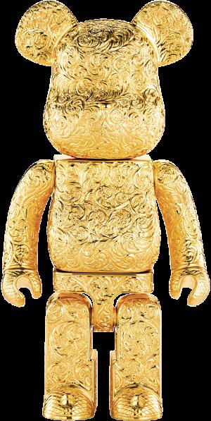 Be@rbrick Royal Selangor Arabesque Golden 400% Collectible Figure