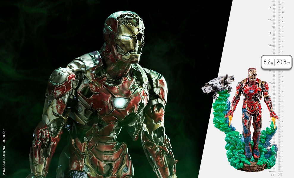 Gallery Feature Image of Iron Man Illusion Deluxe 1:10 Scale Statue - Click to open image gallery
