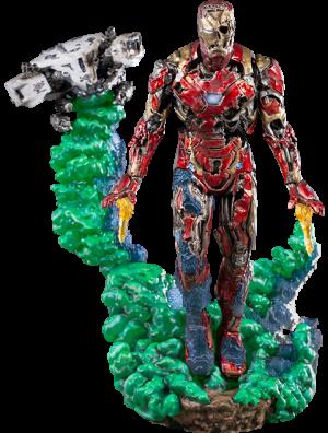 Iron Man Illusion Deluxe Statue