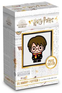 Gallery Image of Harry Potter 1oz Silver Coin Silver Collectible