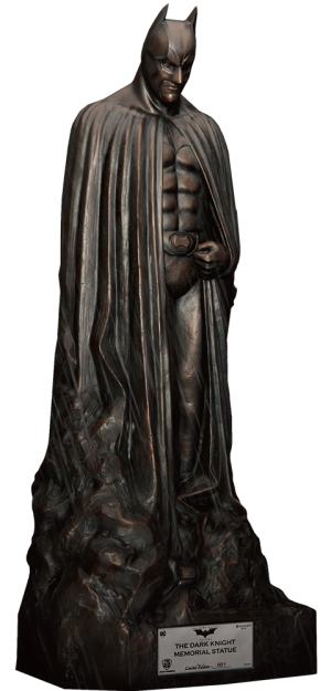 The Dark Knight Memorial Statue