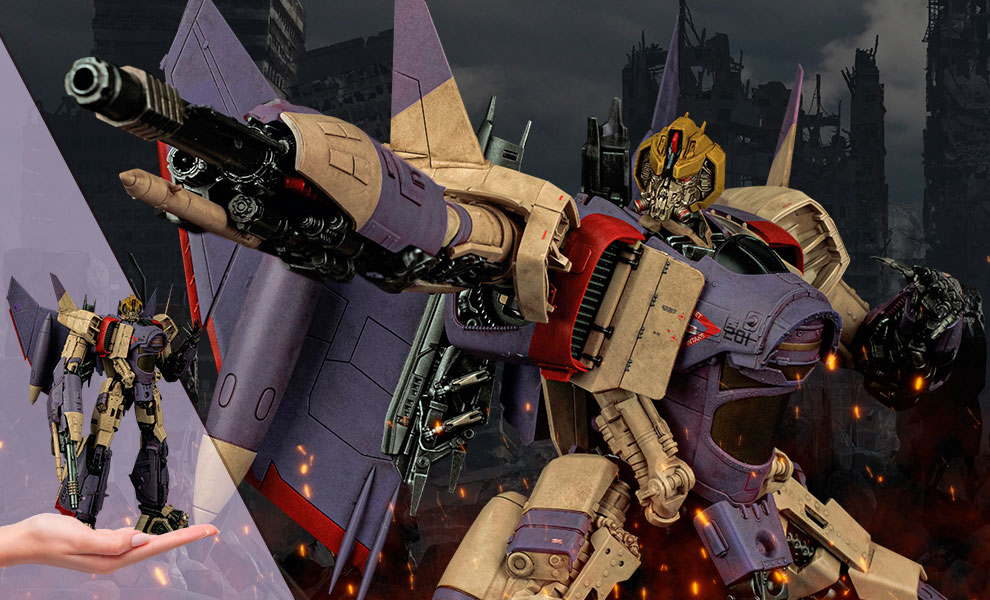 Gallery Feature Image of Blitzwing (Vintage Inspired) Collectible Figure - Click to open image gallery