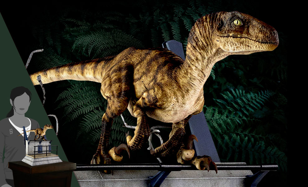 Gallery Feature Image of Breakout Raptor Statue - Click to open image gallery