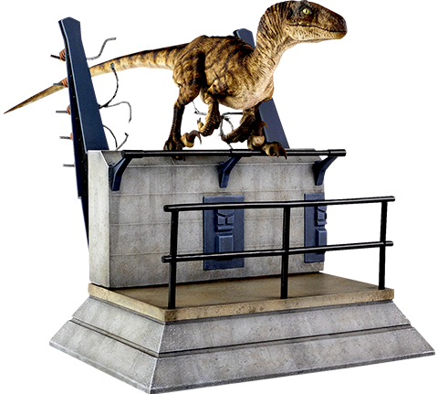 Chronicle Collectibles Breakout Raptor Statue